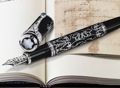 Montblanc George Washington 2007 pen, one of which sold at Bonhams for $25,000