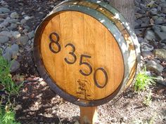 Crisler, this is perfect for you ! Barrel End House Sign