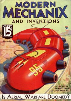 Modern Mechanix Cover
