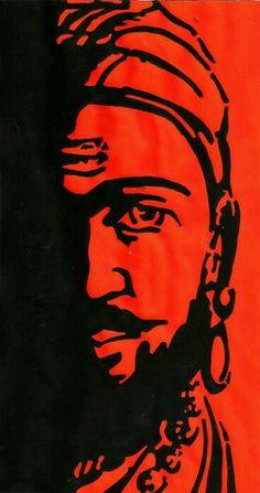 Shivaji maharaj painting
