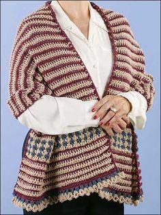 Heartland Comforts Shawl free crochet pattern