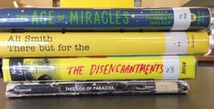 Book Spine Poem (Stop by and create your own!): The age of miracles: / There but for the / Disenchantments / This side of paradise.