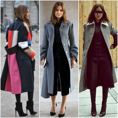 Fashion Fade Magazine : Fashion Icon Style Files: Christine Centenera: longline thick winter coats (print)