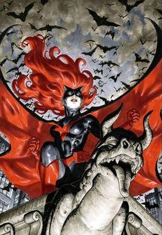 Batwoman by David Yardin * Hq Marvel, Marvel Comics, Bat Cow, Rogue Comics, Batgirl Cosplay, Batman Artwork, Im Batman, Comics Girls, Batwoman