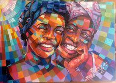 SORO Péhah Jacques,JACKY ou JACQUO à l'état civil, est un jeune et talentueux artiste peintre ivoirien que j'ai découvert grâce à un ami, Ahmed S. qui est également un grand passionné d'art …