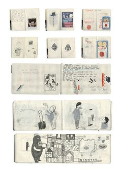 more sketchbooks by rose blake, via Flickr