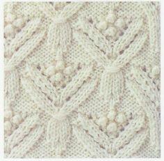 Lace Stitch #54 on free pattern Lace Knitting Stitches at http://laceknittingstitch.blogspot.com.au/2011/08/lace-knitting-stitch-54.html