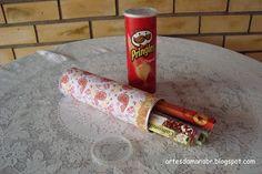 Embalagem de batata = porta incenso