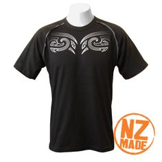 Front/Back tattoo mens tee. Tattoo Style Design - A front and back print . Maori tattooing would usually start at adolescence, & was used to celebrate important events throughout life. The first tattoo marks the transition from childhood to adulthood.  $65