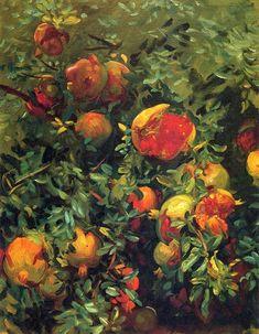Pomegranades, Majorca by John Singer Sargent