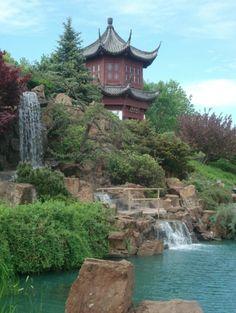 Montreal Botanical Gardens - Chinese Garden