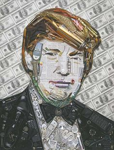 Donald Trump Trash Portrait | Jason Mecier | Jason| Jason Mecier | Jason is a pop culture mosaic artist who creates iconic images of our favorite famous folks out of everyday household objects. Description from pinterest.com. I searched for this on bing.com/images