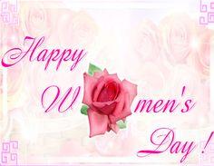 Happy Women's Day.....