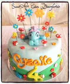 My Little Pony Cake, Fondant Decorations, Types Of Cakes, Themed Cakes, Cupcake Toppers, Icing, Cake Decorating, Birthday Cake, Cupcakes