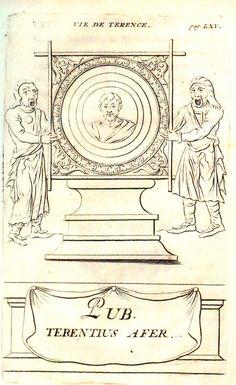 Otra ilustración de las comedias del autor romano Terencio.