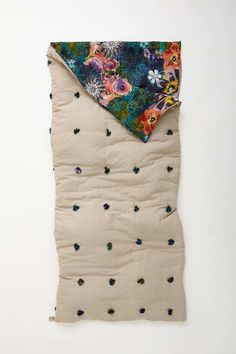 Sweet dreams in this sleeping bag.                                                                                                                                                                                 More