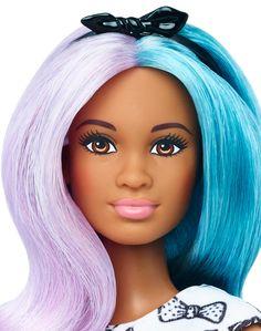 Barbie® Fashionistas™ 42 Blue Violet Doll & Fashions - Petite