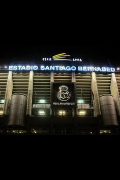 Estadio Santiago Bernabeu .. Madrid