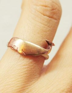 Little whale ring :)