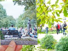 Did you ever have classes outside on the quad or in Founder's Circle?