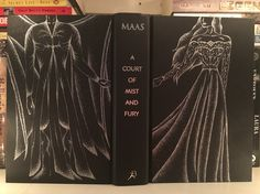 The full effect!! Feyre and Rhysand on A Court of Mist and Fury.