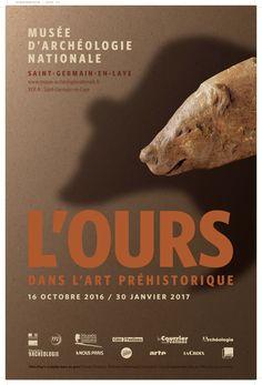 """Exposition """"L'Ours dans l'art préhistorique"""", du 16 octobre 2016 au 30 janvier 2017. © MAN"""