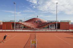Tennisclub, The Couch, Ijburg, Amsterdam, MVRDV architecten
