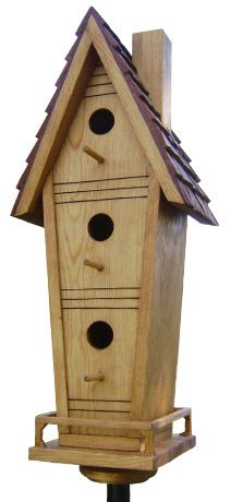 All Wood Bird Houses are handmade from natural solid wood. A beautifully crafted birdhouse will look great in your patio, home or garden. Homemade Bird Houses, Birds And The Bees, Birdhouses, Bats, Turtles, Solid Wood, Rocks, Backyard, Fish