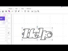 Introduction to the Brother ScanNCut Canvas Font Converter Font Converter, Brother Scanncut2, Scan N Cut Projects, Cut Canvas, Brother Scan And Cut, Hobbies And Crafts, Craft Videos, Sewing Projects, Fonts