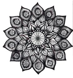 a mandala that would be a beautiful tattoo
