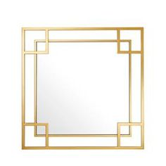 Beautifully crafted, the Morris mirror with gold finished frame will add a sleek and chic element to your interior. Place this exquisite mirror in your entryway or living room to add a sophisticated touch to your décor. THE MOJO OF ART DECO Bring the Art Deco Mirror, Wall Mounted Mirror, Window Mirror, Wall Mirrors, Morris, Art Deco Home, Art Deco Decor, Mirrors Wayfair, Spanish Style Homes