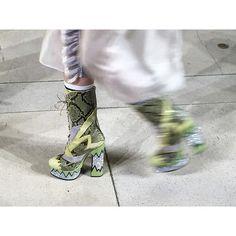 vogueparis Details: platform boots #miumiu #miumiuss16 @miumiu #pfw