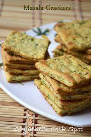 Gayathri's Cook Spot: Masala Crackers
