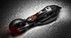 Tecnoneo: Un diseñador turco desarrolla el concepto de motocicleta futurista BMW Titan