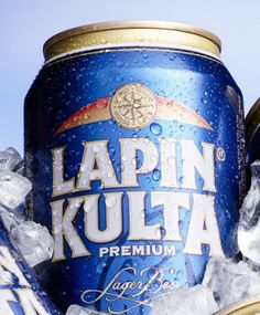 Lapin Kulta, The Golden Beer of Lapland. 4.5% score 6/10 a nice and easy beer maybe it should have a little bit more flavor.