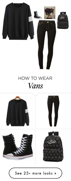 """Untitled #307"" by ncook1123 on Polyvore featuring MICHAEL Michael Kors, Converse and Vans"