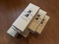 注文していた 「霧島原酒」四合瓶が届く   Ooe-office,atelier 2016/07/14