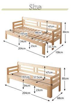 Wooden Sofa Designs, Pallet Furniture Designs, Folding Furniture, Diy Outdoor Furniture, Diy Furniture Projects, Woodworking Projects Diy, Furniture Plans, Outdoor Sofa, Sofa Bed Design