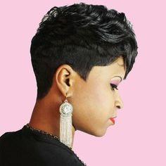 Remarkable Black Women Black Hairstyles And Hair On Pinterest Short Hairstyles Gunalazisus