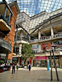 Cabot Circus Shopping Centre, Bristol - distance from BEST WESTERN The Gables: approx 16 miles