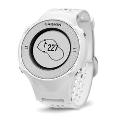 Garmin Approach S4 GPS Golf Watch: Wearable tech golf gadget for out on the golf course and everyday life. It can display how far you walk on the golf course with an odometer and how long it takes to play 18 holes of golf with a round timer. One of these golf accessories can make a nice golf gift too.