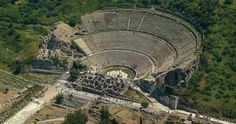 The ancient theatre of Ephesus in Turkey. Said to be one of the best preserved ancient ruins in the whole of the world