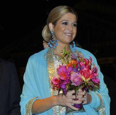 Máxima in turquoise