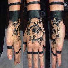 Waterproof Temporary Tattoo Sticker Rose other Flower Fake Tatto Flash Tatoo Hand Arm Foot Back Tato body art for Girl Women Men - Best Tattoos Tiki Tattoo, Hawaiianisches Tattoo, Flash Tattoo, Tattoo Motive, Tattoo Wolf, Tattoo Hand, Tattoo Thigh, Sternum Tattoo, Tattoo Life