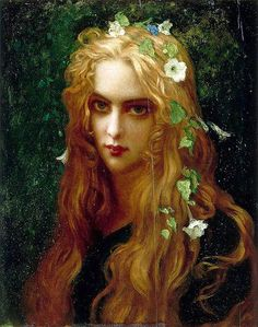 Ophelia by French painter Ernest Hebert Monet, Renaissance Kunst, Gaston, Gustav Klimt, Aesthetic Art, Beautiful Paintings, Art Inspo, Les Oeuvres, Art History