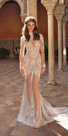 Have you ever seen so many beautiful wedding dresses in one place? Here are the best bridal dresses from top most popular wedding dress designers USA. Look at these most beautiful wedding dresses of all time! Lace Mermaid Wedding Dress, Gorgeous Wedding Dress, Wedding Dress Sleeves, Beautiful Dresses, Lace Dress, Dress Wedding, Wedding Dresses 2018, Bridal Dresses, Dresses Dresses