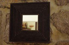 Cardboard mirror