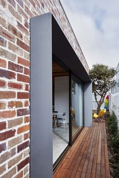 Those Architects 23 is part of architecture House Simple Backyards - Those Architects Photograph by Luc Remond Architecture Details, Modern Architecture, Ancient Architecture, Sustainable Architecture, Recycled Brick, Design Exterior, Exterior Colors, House Extensions, Window Design