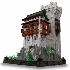 Oakvale Keep: A LEGO® creation by Nick Runia : MOCpages.com