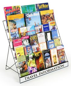 Wire Racks | 6-Tier Countertop Displays for Literature
